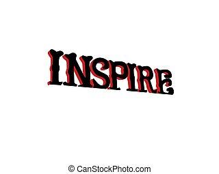 inspirar, inspirador, señal