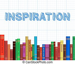 Inspiration Books Graph Paper - Inspiration word on graph...