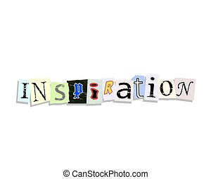 Inspiration Paper Letters