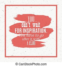 inspiration quote card