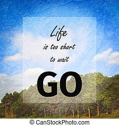 Inspiration quote