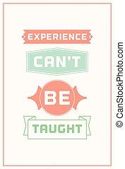 Inspiration typography quote illustration - Typographic...