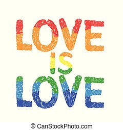 inspirational, amor, homossexual, love., cartaz, orgulho