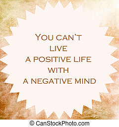 Inspirational and motivational quote. Effects poster, frame...