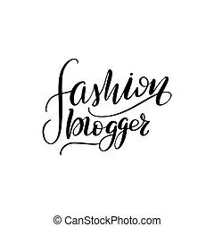 lettering fashion blogger