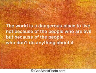 Inspirational quote by albert einstein
