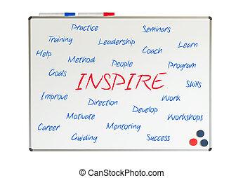 Inspire word cloud