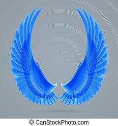 inspirer, ailes