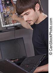 instalación computadora