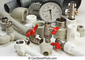 instalacja wodociągowa, armatura
