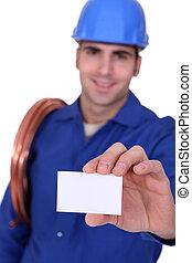 instalator, businesscard