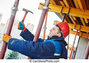 installateur, ouvrier construction