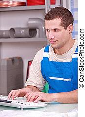 installatiebedrijf, aan het werk werkkring