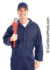 installatiebedrijf, arbeider