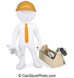 installatiebedrijf, gereedschap, sifon