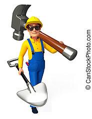 installatiebedrijf, hamer