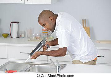 installatiebedrijf, keuken