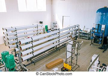 installation, de, industriel, membrane, appareils
