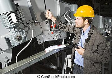 installation, mécanicien