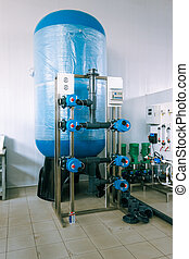 installation of industrial membrane devices