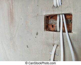 installation, système, électrique