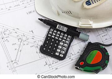 installations, construction, ingénieur