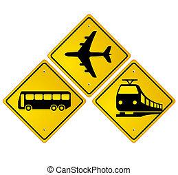 installations, transport