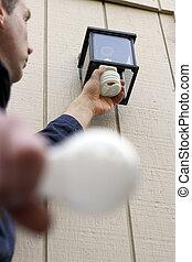 Installing a CFL