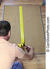 Installing Anti Slip Rug Tape