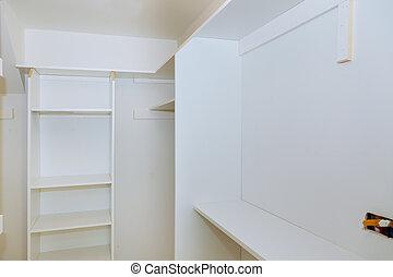 installing wooden shelves on wall installing a shelf