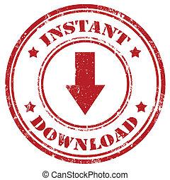 Instant Download-stamp