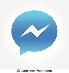 Instant Message Bubble Icon