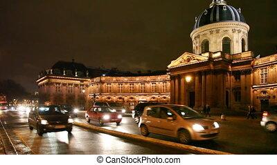 Institut de France and road