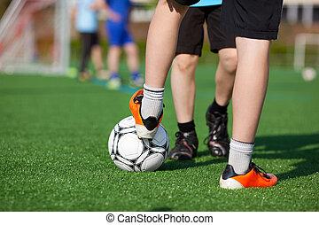 instrucción fútbol
