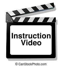 Instruction video for training and how to teaching using...