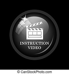 Instruction video icon