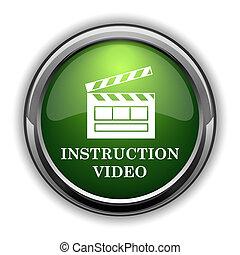 Instruction video icon0 - Instruction video icon. ...