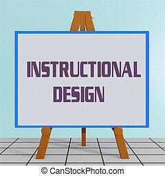 Instructional Design concept - 3D illustration of...