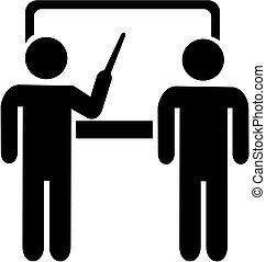 Instructor teacher icon