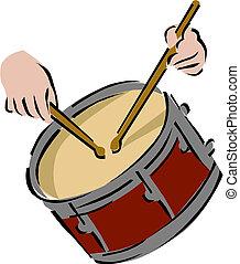 instrument, bęben