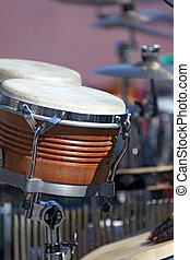 instrument, ensemble, tambour