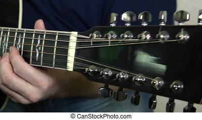 instrument, guitariste, musical