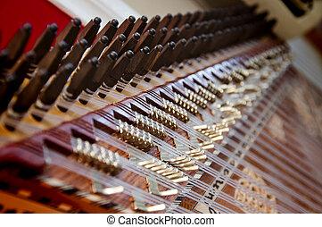 instrument, kanun, türkisch