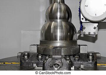 instrument, maszyna, cnc