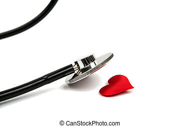 instrument, medyczny, stetoskop