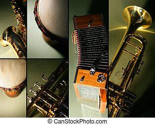 instrument, mosaik