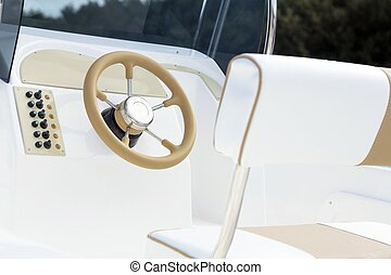 Instrument panel and steering wheel