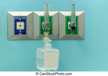 Instrument to check your Oxygen concentrator bar gage calibration sensor in hospital room