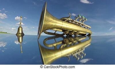 instrument vent, vendange, musical