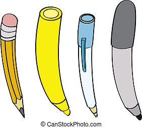 instrumente, schreibende